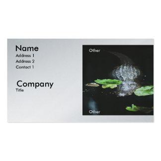 Gator Business Card Template