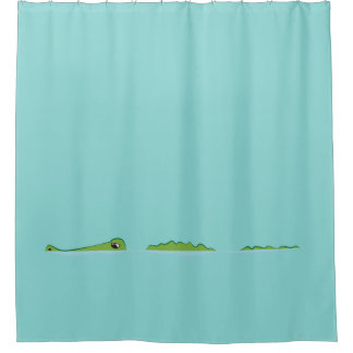 Gator Cartoon Shower Curtain