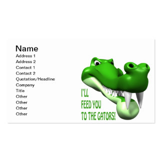 Gator Pack Of Standard Business Cards