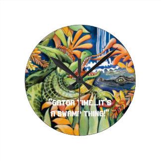 Gator Time Swamp Clock
