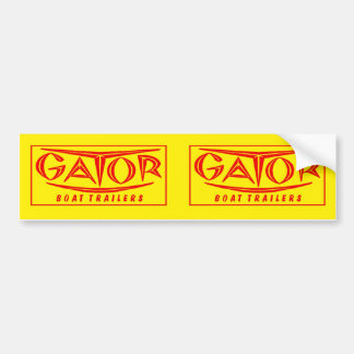 Gator Trailer Fender Sticker