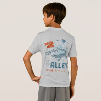 Gator Wrestling Champ Alligator Alley Retro T-Shirt