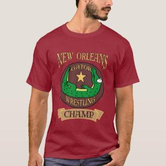Gator Wrestling Champ, New Orleans T-Shirt