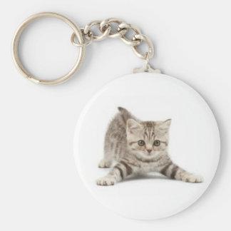 Gatos Basic Round Button Key Ring