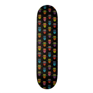 Gaucho Sugar Skulls Skate Board