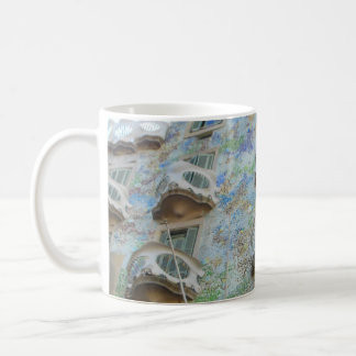 Gaudi Barcelona Architecture Coffee Mug
