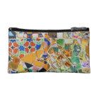 Gaudi Ceramic Tile (tencadis) Fractals Makeup Bag
