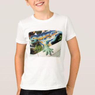 Gaudi Lizard Mosaics T-Shirt