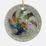 Gaudi Mosaic Christmas Ornament