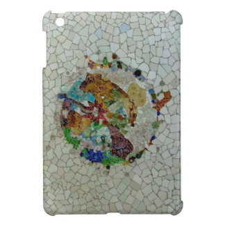 Gaudi Mosaic Rose iPad Mini Cover