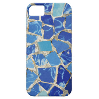 Gaudi Mosaics With an Oil Touch iPhone 5 Cases