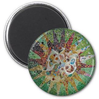 Gaudi Tiles Magnet