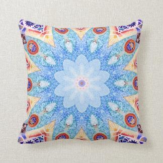 Gaudi's pattern. throw pillow