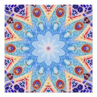 Gaudi's Tile. Poster