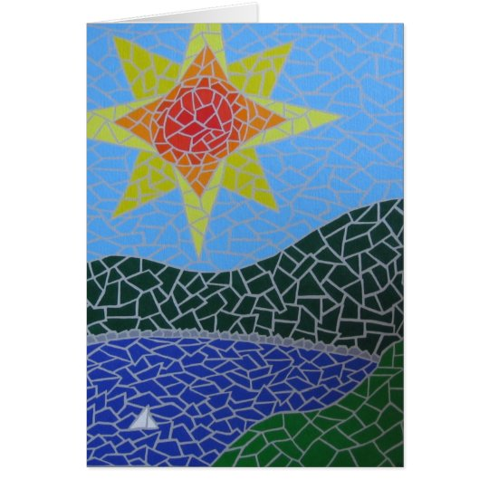 Gauditerranean Card
