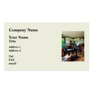 Gauges in machine Shop Pack Of Standard Business Cards