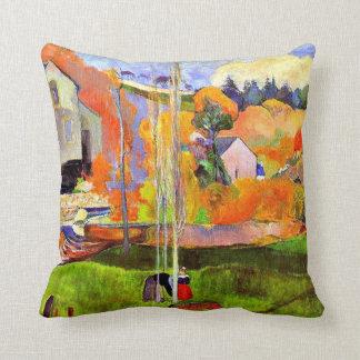 Gauguin - A Breton Landscape-David's Mill-1894 Cushion
