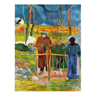 Gauguin - Bonjour, Monsieur Gauguin Postcard