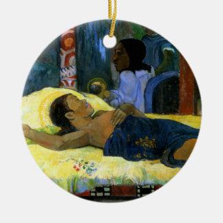 Gauguin child of God Te Tamari No Atua (Nativity) Christmas Tree Ornament