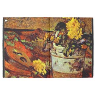 "Gauguin - Mandolina and Flowers-1883 iPad Pro 12.9"" Case"