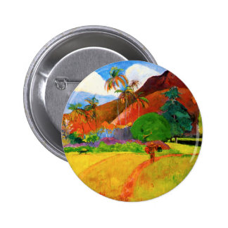 Gauguin Mountains in Tahiti Button