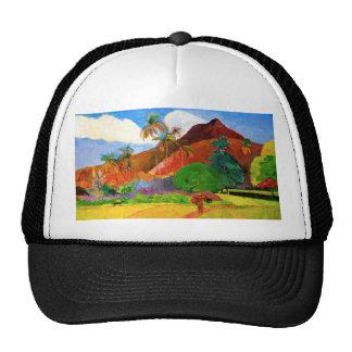 Gauguin Mountains in Tahiti Cap