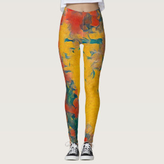 Gauguin Rave Love Leggings