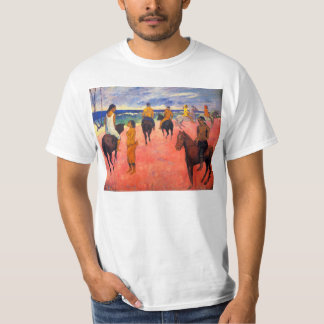 Gauguin Riders on the Beach T-shirt