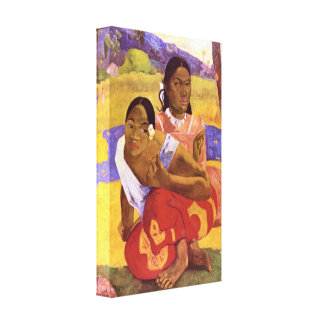 Gauguin - When are you Getting Married Canvas Print