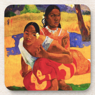 Gauguin When Are You Getting Married Coaster