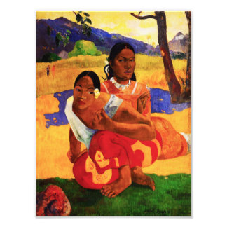 Gauguin When Are You Getting Married Photo Print