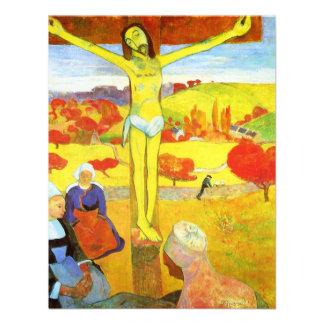 Gauguin Yellow Christ Invitations