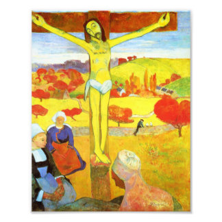 Gauguin Yellow Christ Print