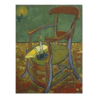 Gauguin's chair photographic print