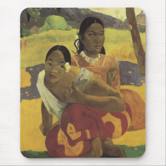 Gauguin's When Will You Marry? Mousepad Mouse Pad