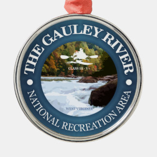 Gauley River (c) Metal Ornament