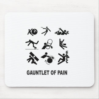 gauntlet of pain mouse pad