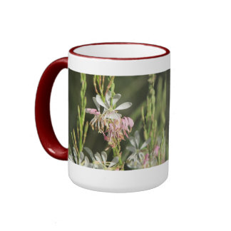 Gaura Blossoms Coffee Mugs