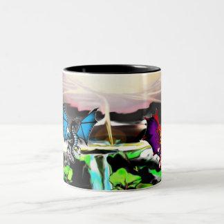 gaurdians Two-Tone coffee mug