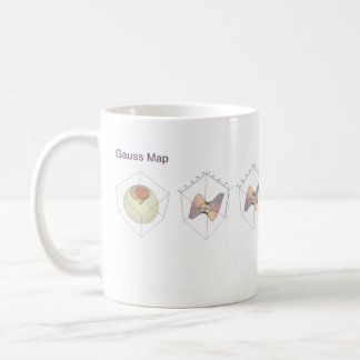 Gauss Map Coffee Mug