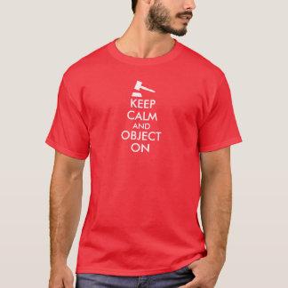 Gavel Attorney Shirt Customizable Keep Calm Saying