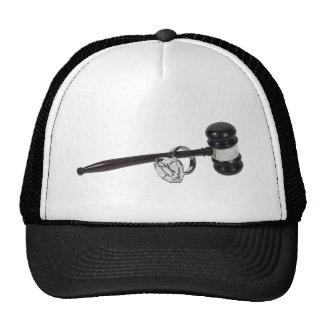 GavelAndEngagementRing071611 Trucker Hats