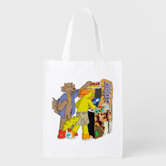 Gavin Got Game Reusable Grocery Bag