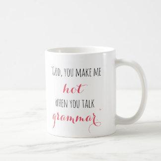 Gavin Grammar Quote Mug