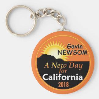 Gavin NEWSOM Governor 2018 Key Ring