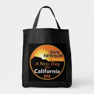 Gavin NEWSOM Governor 2018 Tote Bag