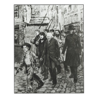 Gavroche Leading a Demonstration