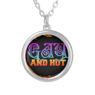 Gay and Hot Silver Plated Necklace