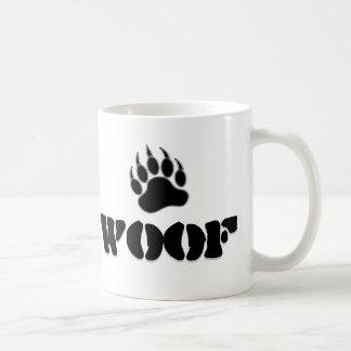 Gay Bear Pride Bear Paw WOOF Coffee Mug