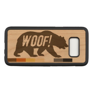 Gay Bear Pride Bear WOOF Carved Samsung Galaxy S8 Case